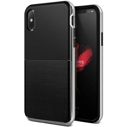 High Pro Shield de VRS: Funda elegante y resistente para iPhone XS/X - Varios colores