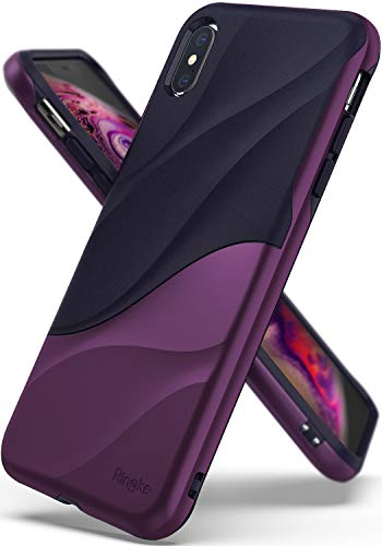 Rinkle Wave: Funda de doble capa para iPhone XS MAX - Varios colores