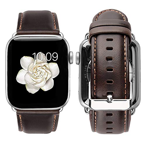 Correa de cuero estilo Vintage para Apple Watch