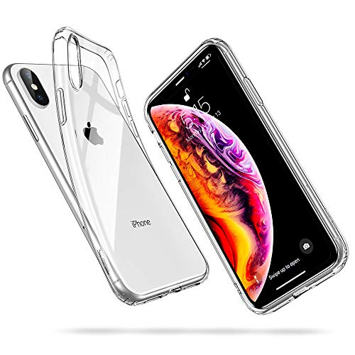 ESR Ultra Slim: Funda transparente TPU para iPhone XS MAX