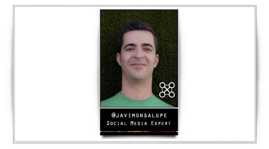 ¿Donde encontrarle? En un evento… Entrevista con @javimonsalupe. Social media y mundo 2.0
