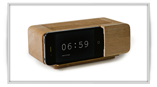 Alarm Dock, convierte tu iPhone iPod en despertador