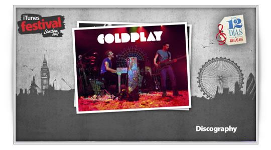 12 días de regalos : Coldplay