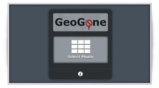GeoGone: elimina localización en fotos