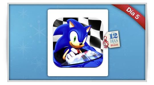 12 días de regalos: Sonic & Sega All-Stars Racing