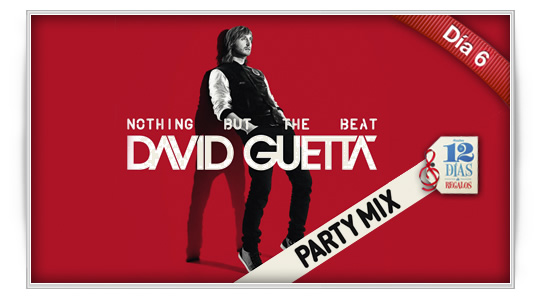 12 días de regalos: David Guetta  Nothing but the beat