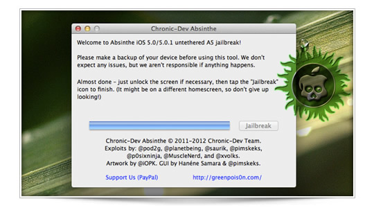 Jailbreak Untethered iPhone 4S y iPad 2 ya está aquí.