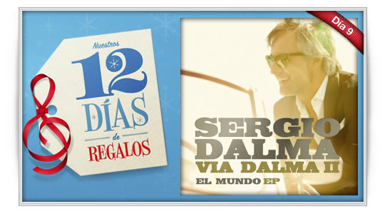 12 días de regalos: Sergio Dalma