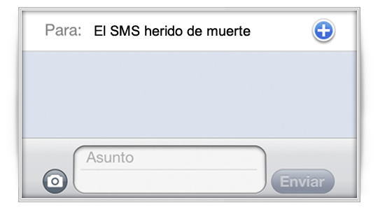 El fin de los SMS, ¿alguien lo dudaba?