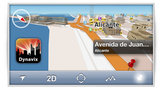Dynavix: navegación GPS desde tu iPhone o iPad [Sorteo]