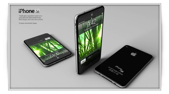 Nuevo prototipo de iPhone 5 por ADR Studio