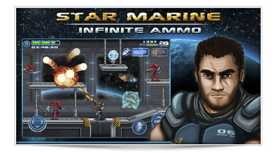 Star Marine: al estilo Metal Slug o Contra III