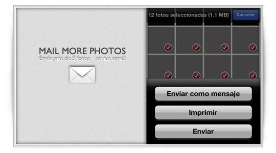 Mail More Photos: envía más de 5 fotos por email