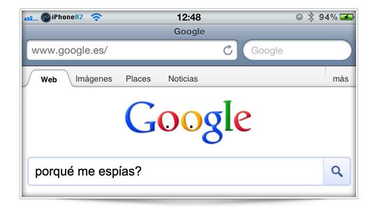 Eliminar el historial de búsquedas en Google (ojo¡ no del navegador sino de vuestra cuenta de Google)