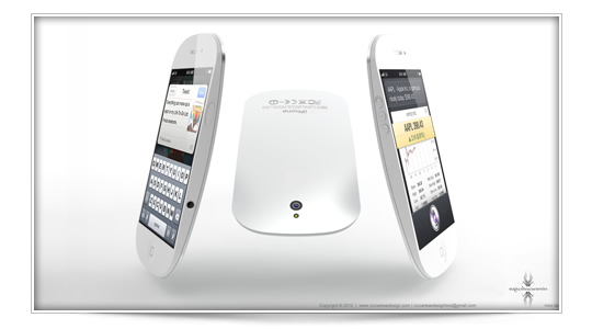 Concepto de iPhone 5 Magic Mouse