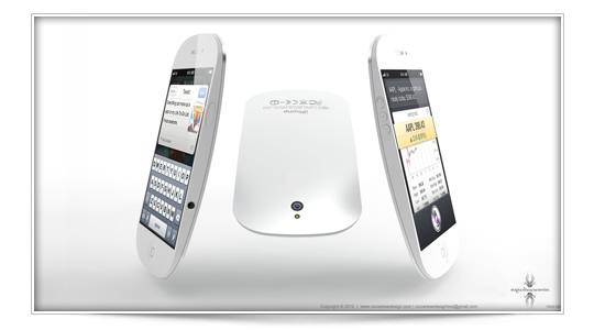 Concepto de iPhone 5 Magic Mouse