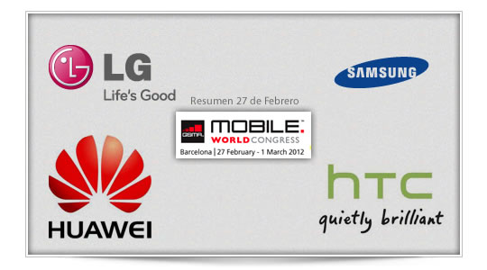 Mobile World Congress – Día 27 Febrero