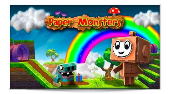 Paper Monsters, un colorido mundo de diversión.