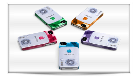 "Funda retro ""iMac iPhone"" para iPhone 4/4S"