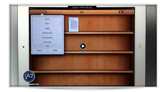Como organizar tus libros y PDF en iBooks