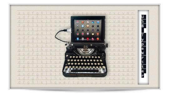USB TypeWriter, para melancólicos