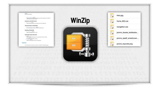 Winzip, llega a iOS