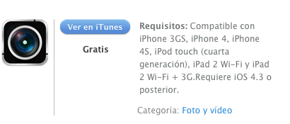 itunes camcampro