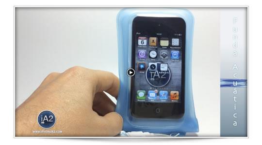 Dicapac, funda acuática para iPhone iPad iPod