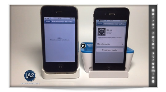 Vídeo: Borrar fotos en Streaming iOS 5.1