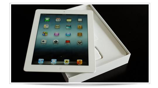 Primer unboxing del Nuevo iPad