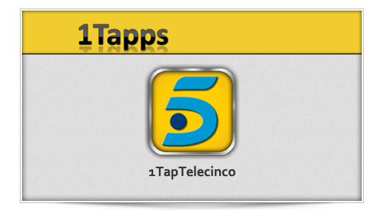 1TapTelecinco, Telecinco en 1 toque