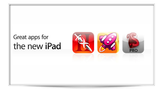 Avalancha de Apps optimizadas para el iPad N