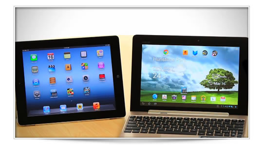 iPad N vs Asus Tegra 3