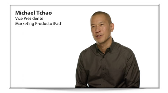 Michael Tchao explica porqué el iPad N sigue cargando después de indicar el 100% de carga