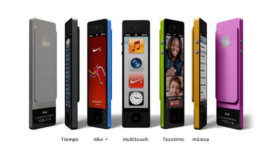 Concepto: iPod Nano Touch