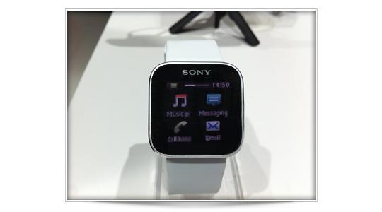 SmartWatch de Sony, un reloj inteligente