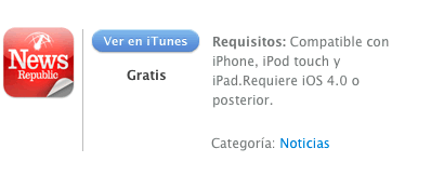 itunes News Republic