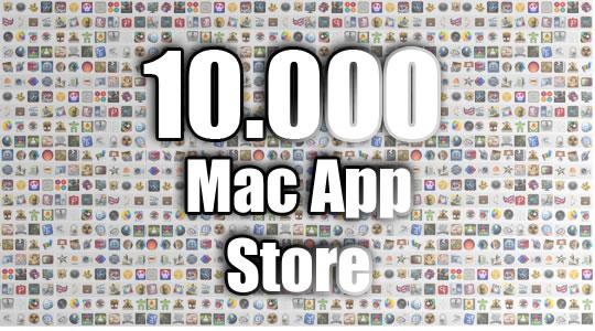 La Mac App Store llega a las 10.000 aplicaciones a la venta.