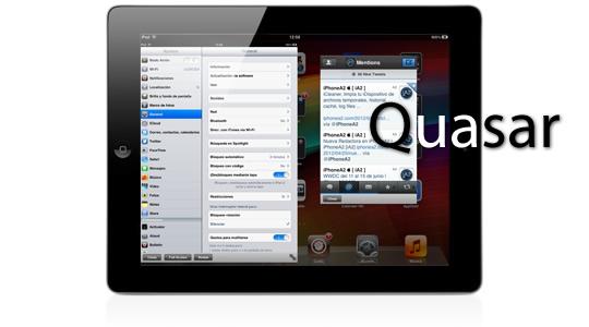 Quasar, múltiples ventanas para el iPad
