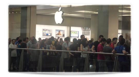 Apertura Apple Store Murcia, todo un éxito