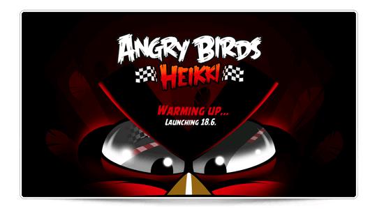 Angry Birds a la Fórmula 1