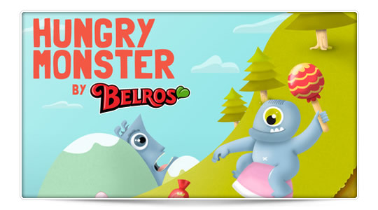 Hungry Monster, consigue chuches, en el mundo real y virtual