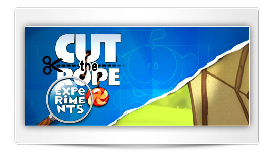 Cut the Rope: Experiments, la App de la semana