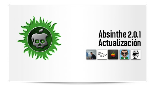 Actualización menor Absinthe 2.0.1