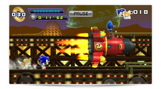 Sonic The Hedgehog 4 juego de la semana en la AppStore