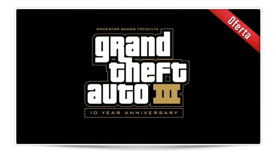 Grand Theft Auto 3 en oferta por tiempo limitado