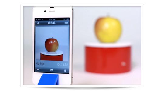Arqball Spin escanea objetos en 3D con la cámara del iPhone