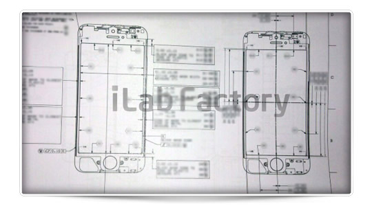 Los planos del iPhone 5