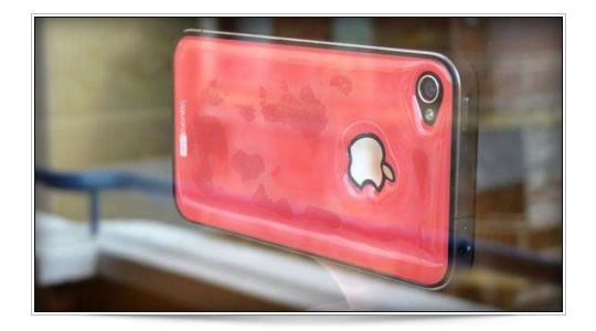 Resin funda iPhone
