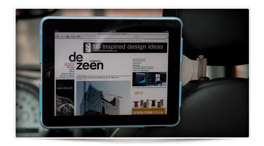 Walle Headrest, soporte de coche para iPad